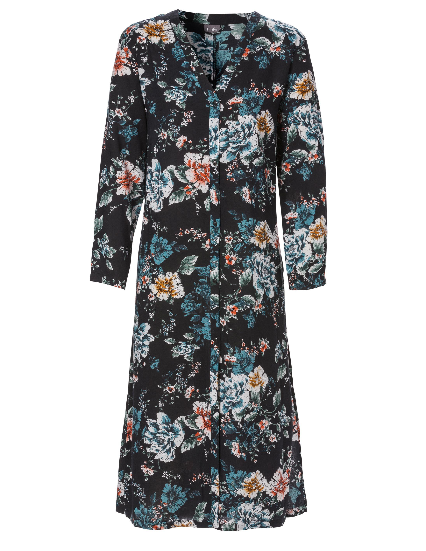 Morgonrock Kimono Mönstrad Viskos