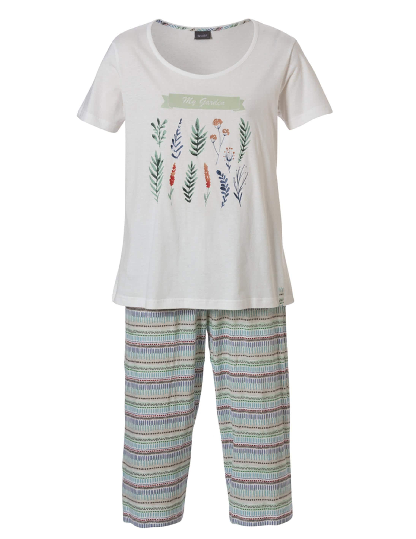 Pyjamas  i Bomull 2-delad Turkos