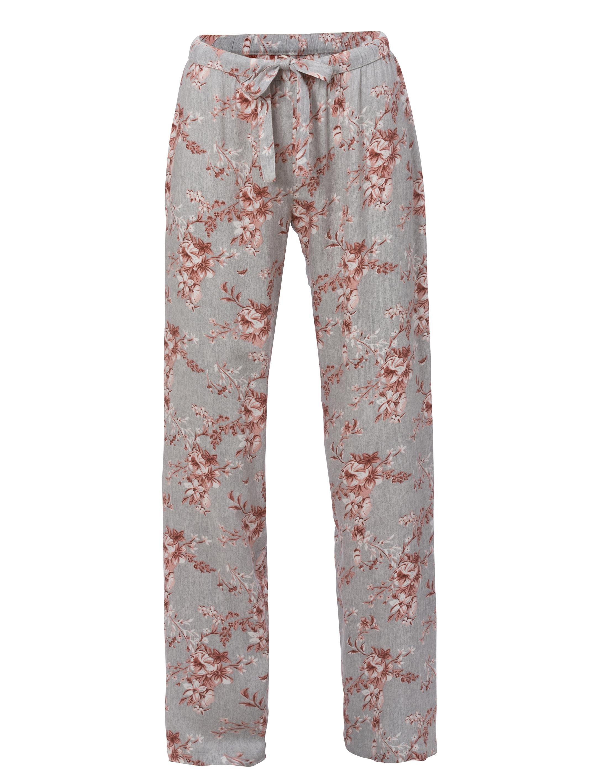 Pyjamas Set Viskos Mönstrad Grå