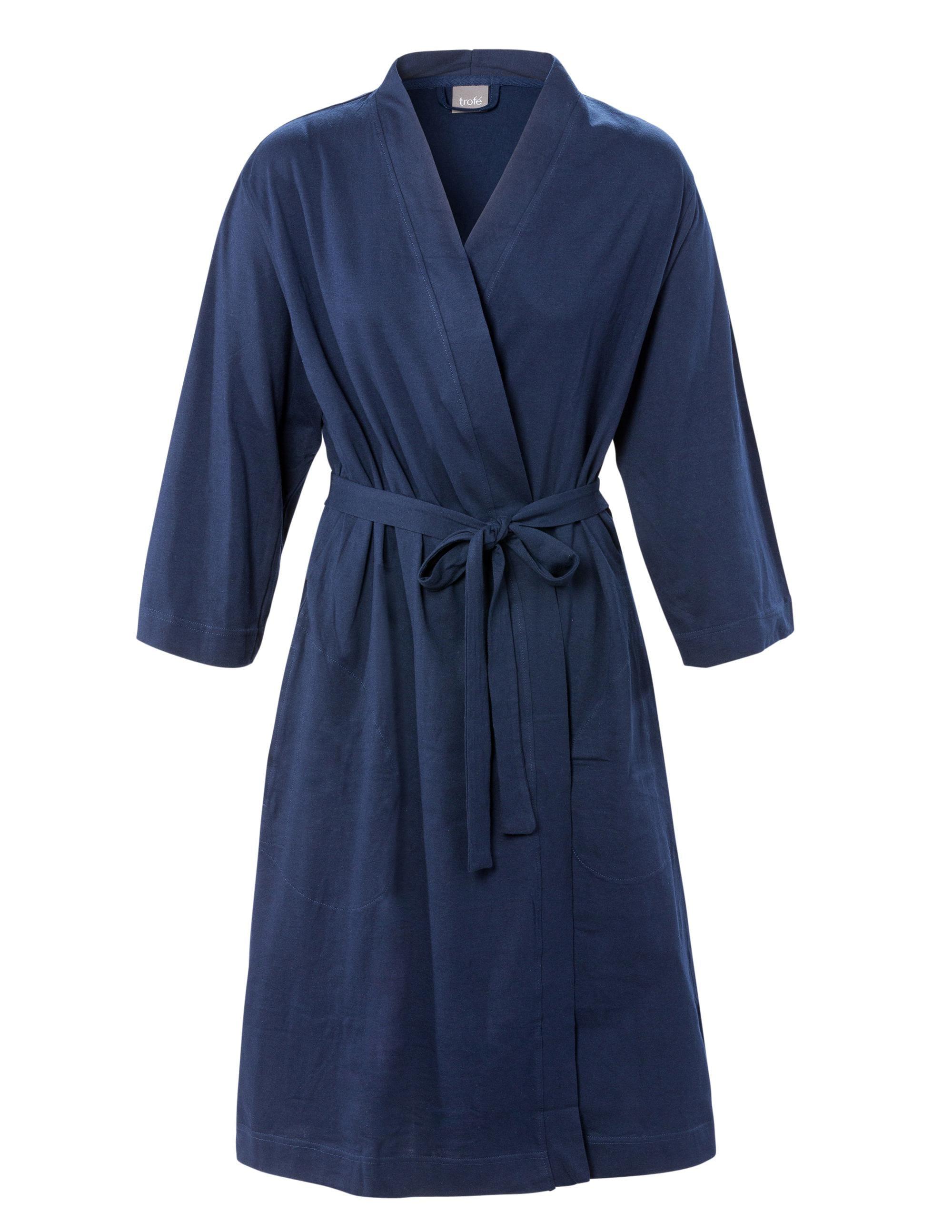 Kimono Bomull Marin